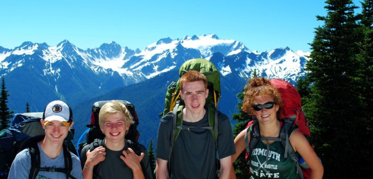 Apogee Adventures teen hiking trip Olympic National Park - Washington