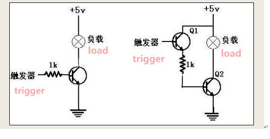transistor switching theory