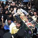 VIDEO DVD: Înmormântarea Părintelui Justin, cu momente din viața sa povestite de monahul Teodot