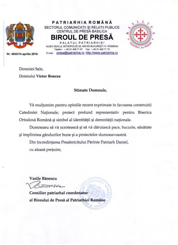 Domnului-Victor-Roncea-din-incredintarea-PF-Patriarh-Daniel-pentru-Catedrala-Mantuirii-Neamului