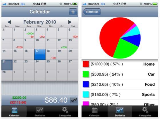 Screenshots Almightydollor App für iPhone und iPod Touch