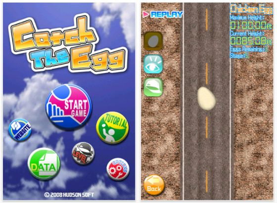 Screenshot Catch the Egg