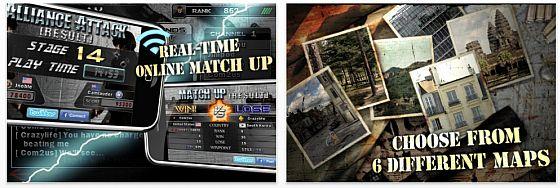 Online Scharfschützenspiel für iPhone und iPod Touch heute kostenlos