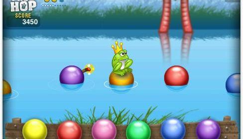 Noch bis Sonntag gibt es das Reaktions- und Geschicklichkeitsspiel FrogHop gratis
