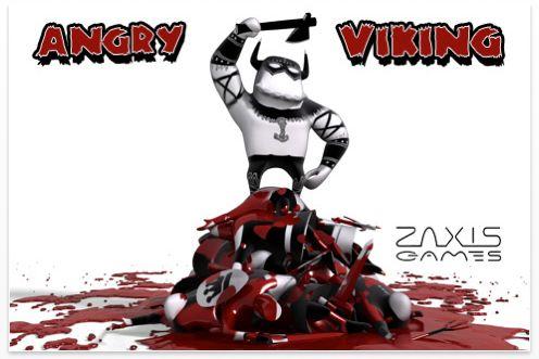 Screenshot Startbild App Angry Viking
