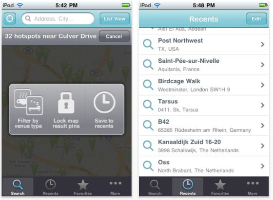 SAcreenshot Free Wi-Fi Finder