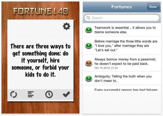 Screenshot Fortune 140