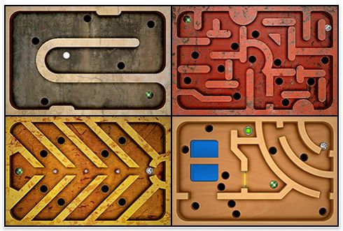 Screenshot Labyrinth Game