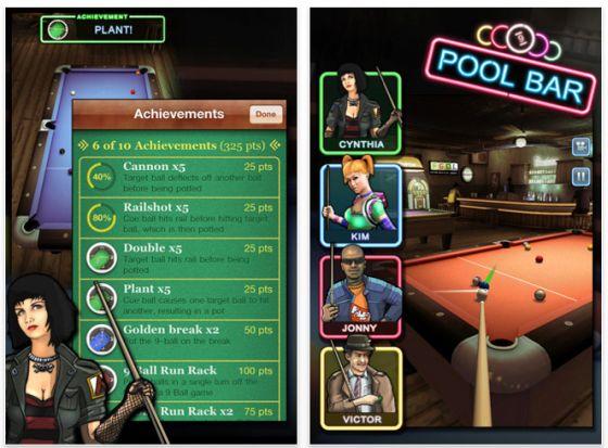Pool Bar Screenshot