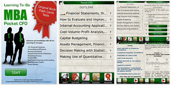 Pocket CFO: All Courses Screenshot