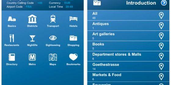 Gleich 15 englischsprachige Städte-Reiseführer sind gerade kostenlos für iPhone und iPod Touch