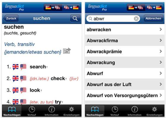 Linguadict Pro Screenshot