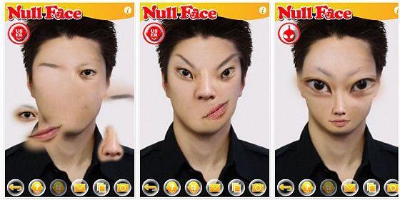Kurztipp: Verrückte Avatare erstellen mit dem gerade kostenlosen NullFace für das iPhone