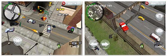 GTA: Chinatown Wars für iPhone und iPod Touch Screenshots