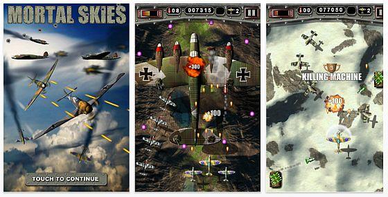 Mortal Skies Screenshot iPhone App