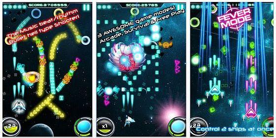 Musik Arcade Spiel Wave against every Beat! gerade kostenlos für iPhone und iPod Touch