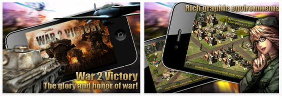 War 2 Victory Screenshot Strategiespiel für iPhone und iPad