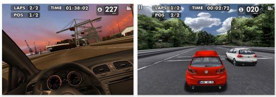 Volkswagen App GTI EDITION Screenshot