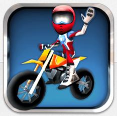 Gutes Arcade Motocross-Rennspiel für iPhone und iPad bis morgen früh kostenlos