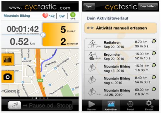 Cyctastic Pro Screenshot der iPhone App