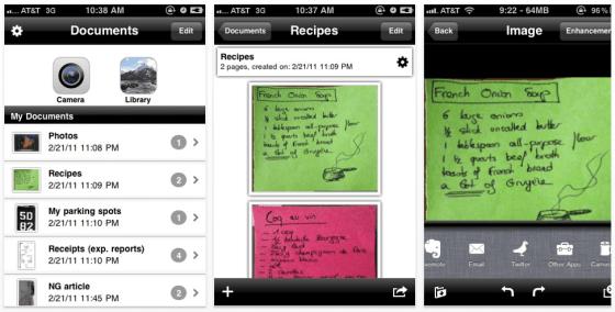 Genius Scan + Screenshots