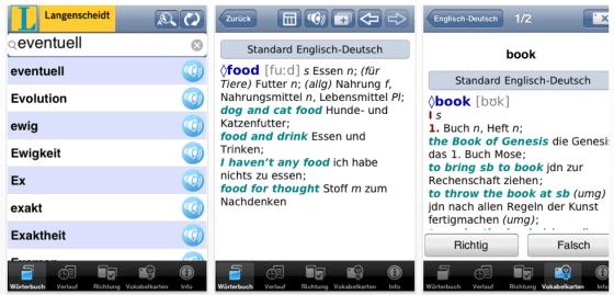 Langenscheidt hat zum Wochenende zahlreiche Apps reduziert – die komplette Liste auf app-kostenlos.de