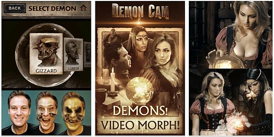 Demon Cam für das iPhone ist heute noch gratis – und ein Tipp zum Erschrecken von Freunden