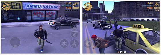 GTA 3 für iPhone und iPad
