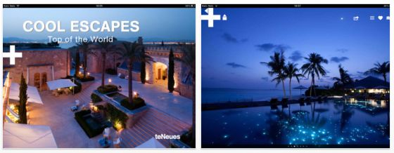 Cool Escapes - Universal App für iPhone, iPod Touch und iPad - Screenshots