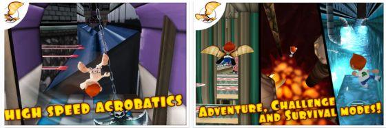 Neues, kostenloses Jump and Run Spiel für iPhone und iPad erfordert Geduld