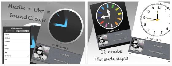 Soundclock Pro Screenshots der App für iPhone, iPod Touch und iPad
