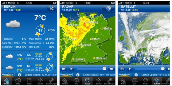 Alle Wetter – Weather Pro für iPad und iPhone heute zum halben Preis