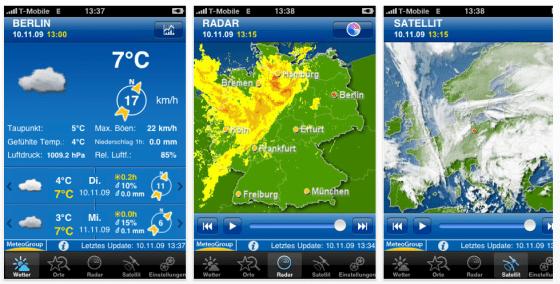 WeatherPro Screenshots auf iPhone