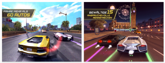 Asphalt 7 von Gameloft Screenshots