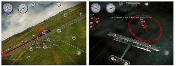 Sky Gamblers: Rise of Glory Screenshots des Flug-Simulators