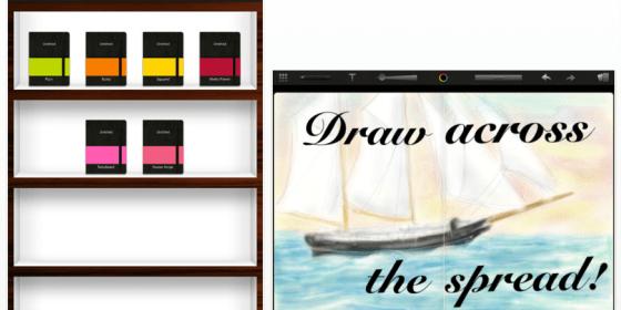 Neue und kostenlose Notizbuch-App für das iPad von Moleskine veröffentlicht