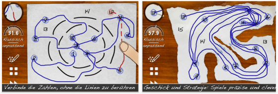 Skill game für iPhone, iPod Touch und iPad