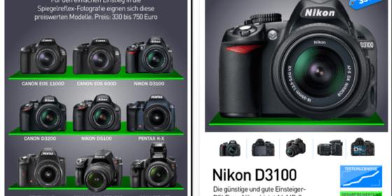 DigitalPhoto DSLR Guide für das iPad zur Einführung kostenlos