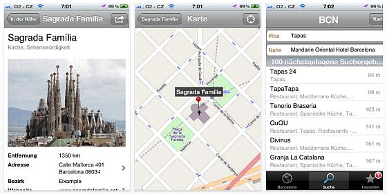 Nelso Barcelona - App für iPhone, iPod Touch und iPad