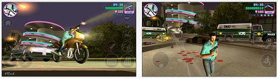 GTA Vice City ab sofort für iPhone, iPod Touch und iPad erhältlich