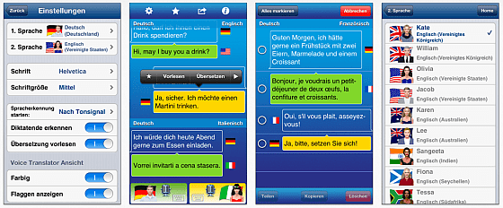 Voice GTranslator Linguatec Screenshots