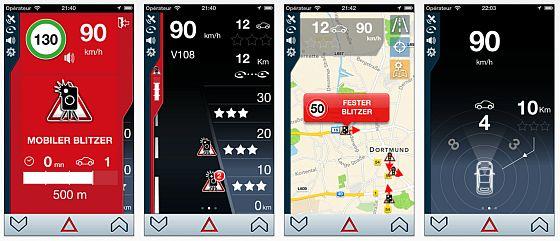 Mit iCoyote machst Du Verkehrsnachrichten und profitierst von denen anderer