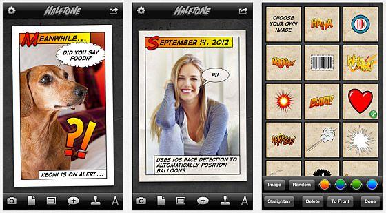 Halftone Screenshots