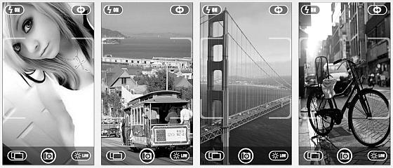 Mit Black + White HD wandelst Du Bilder in schwarz-weiß Aufnahmen und kannst drei voreingestellte Belichtungen nutzen - gut für Anfänger - aber  zu wenig für Profis.