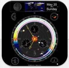 Weit mehr als eine schöne iPad-Uhr: Sternwarte für das iPad ist heute kostenlos