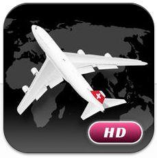Mit World Flight PRO HD hast Du alle Flugdaten weltweit auf dem iPad dabei