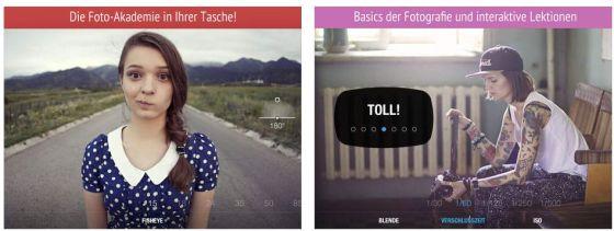 Auf dem iPad gefällt die App besser, weil hier die Beispiele besser in ihren zum Teil kleineren Unterschieden wirken.