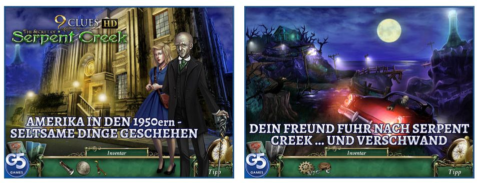 was passierte in serpent creek heute ist die vollversion von 9 clues the secret of serpent. Black Bedroom Furniture Sets. Home Design Ideas