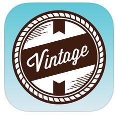 Vintage Designer App gerade kostenlos für iPhone und iPad – super Auswahl an Designelementen