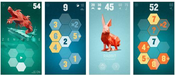 The Mesh ist ein grafisch schön gestaltetetes Zahlenspiel mit einigen neuen Ideen. Alle Tierkreiszeichen freizuschalten dürfte nicht zu einfach sein...